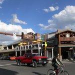 Rancher Bar - Terasse und Restaurant