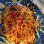 Spaghetti con polpo