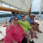 Jay and Lillian from Seneca Falls , N.Y. Great sail.