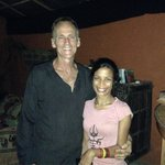 The lovely owners of The Pokhara Beach Club!