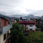 New Pokhara Lodge view from our room