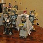 Шишы справляют свадьбу