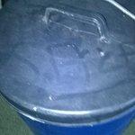 poubelle de la location