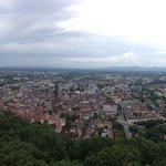 Vista dalla torre dello Schlossberg