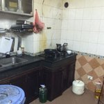 Here is the kitchen where they are preparing the cook for the restaurant