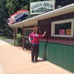 Megan at The Green Arch Restaurant