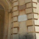 Plaque Alphonse Daudet