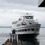 Un des bateau de la flotte Argosy