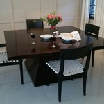 Dining area in bungalow room 1238 superb