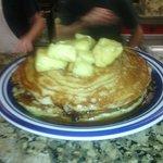 Sweet Hawaiian Pancakes
