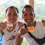 With Ketut enjoying CatPooChino