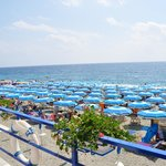 Die Sonnenseite mit Strand und Meer