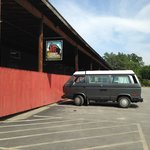Kind of place where one would expect a vintage VW bus