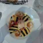 Sea scallops and lobster ravioli