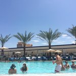 Wet republic pool. Separate pool area to all other pools.