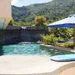 rooftop pool / bar