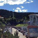 La cabinovia, a due passi dai mitici mima e Gianluca!
