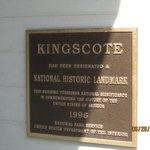 Kingscote Sign