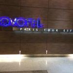 Ground floor hotel sign