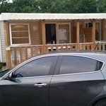Mobile home mitoyen, insonorisées pour notre part voisin calme, aucun dérangement pour nous