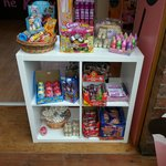 Modern and traditional sweets available