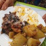 Pomme de terre et d'aubergine