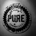 Pure Taqueria - Old gas station sign that hangs in the Roswell location.
