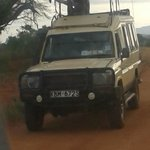 our jeep in Tsavo East