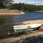 Island Hopping rowboat at Finnhamn
