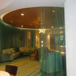"""lobby near check in desk-odd decor """"no words for this one"""""""
