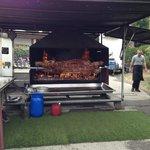 barbecue vache tigre