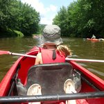 Kayak sur la rivière Missisquoi
