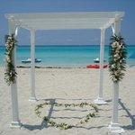 Wedding chapel on the Beach