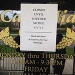 "Wow! No Way but, it's True...Casa Mia ""Closed"" Tavares' Very Best Restaurant ~empty~"