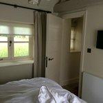 bedroom in rose cottage