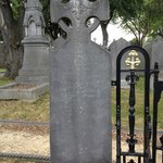 Michael Carey, the first person to be buried at Glasnevin