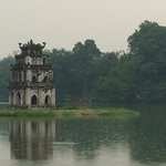 The leaning pagoda