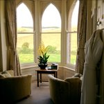 Soak up the views from the Hardy Room