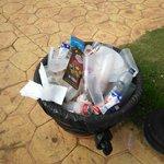 más basura acumulada