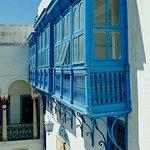 Museo Bardo: Tunisi: Tunisia: particolare del cortile