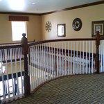 Second floor stairwell... beautiful!