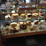 The selection of cakes!