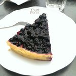 Blueberry tarte - very good!