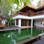 The lanai and pool