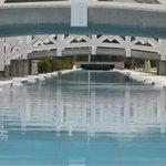 the 86m long pool