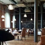The Engine Shed Restaurant, Set up ready for Sunday lunch