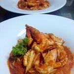 Spaghetti del pescatore.!!
