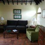 Living Room - 1 bedroom unit