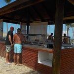 Buffet de la playa