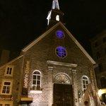 Antica Chiesa nella Old Quebec